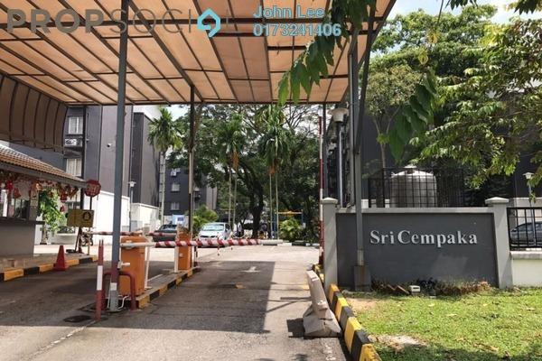 For Sale Apartment at Sri Cempaka Apartment, Bandar Puteri Puchong Freehold Unfurnished 3R/2B 290k