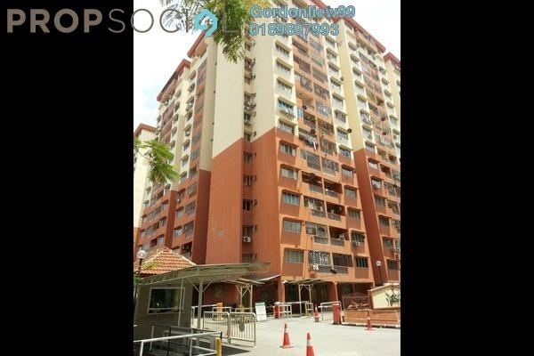 For Sale Apartment at Sri Camellia Apartment, Kajang Freehold Semi Furnished 5R/4B 350k