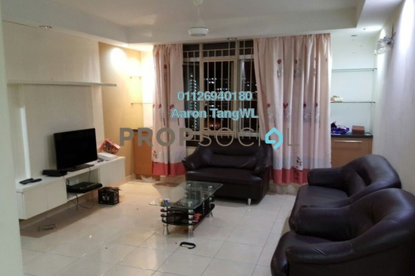 For Sale Condominium at Casa Prima, Kepong Leasehold Semi Furnished 3R/2B 470k