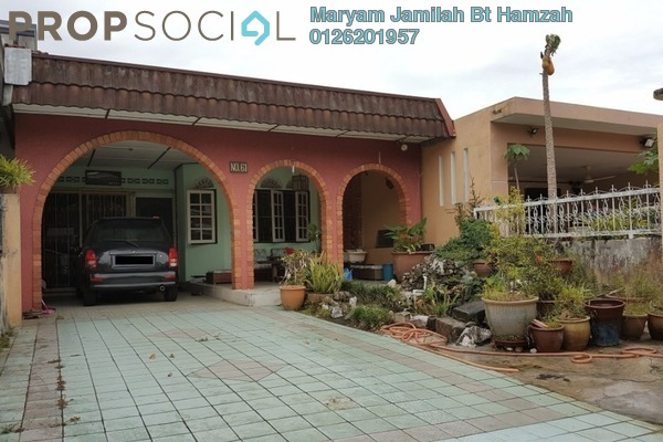 For Sale Terrace at Taman Ehsan, Kepong Leasehold Semi Furnished 3R/2B 550k