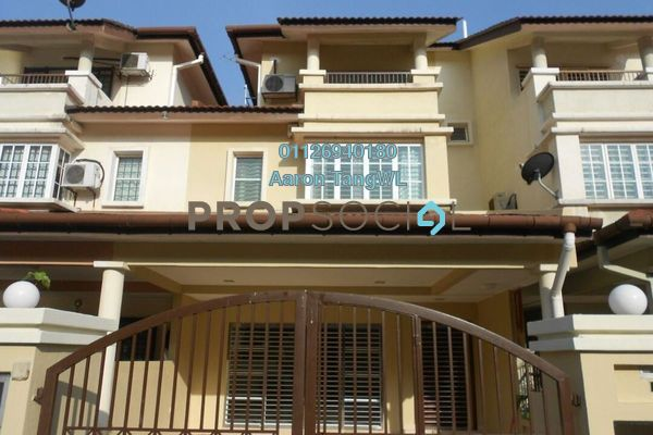 For Sale Terrace at Laman Rimbunan, Kepong Leasehold Semi Furnished 6R/4B 1.25m