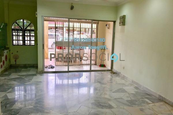 For Sale Terrace at Taman Intan Baiduri, Selayang Leasehold Unfurnished 4R/3B 770k
