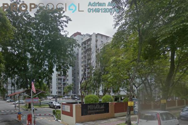 For Rent Condominium at Taman Miharja, Cheras Leasehold Fully Furnished 2R/1B 1.3k