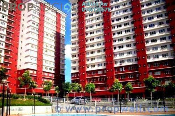 For Rent Condominium at Suasana Lumayan, Bandar Sri Permaisuri Leasehold Semi Furnished 4R/2B 1.3k