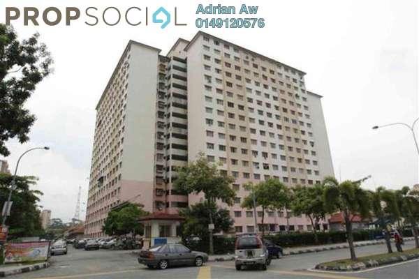 For Rent Condominium at Cendana Apartment, Bandar Sri Permaisuri Leasehold Semi Furnished 3R/2B 1k