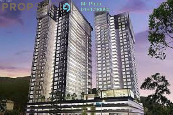 For Sale Condominium at Mira Residence, Tanjung Bungah Freehold Unfurnished 3R/2B 1m