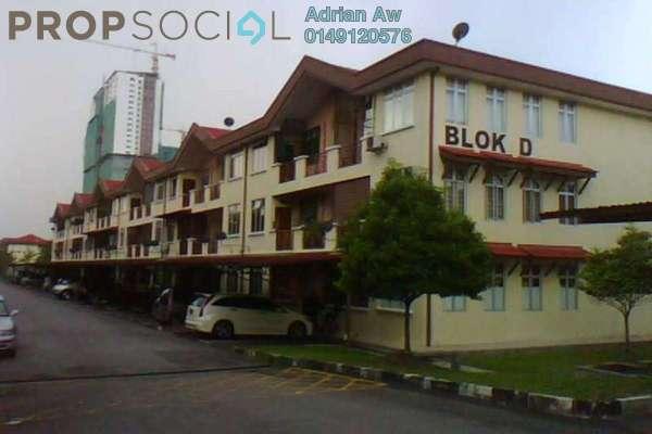 For Rent Condominium at Pinggiran Cempaka, Pandan Indah Freehold Semi Furnished 3R/2B 1.3k