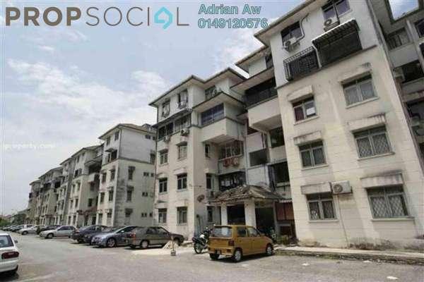 For Rent Condominium at Taman Cahaya, Ampang Freehold Semi Furnished 3R/2B 1k