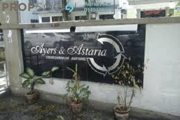 For Rent Condominium at The Astaria, Ampang Leasehold Fully Furnished 3R/2B 1.1k