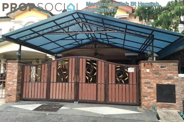For Sale Terrace at Seksyen 8, Bandar Baru Bangi Leasehold Semi Furnished 4R/3B 560k