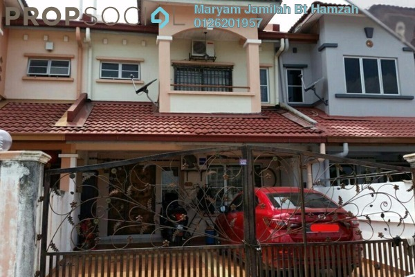 For Sale Terrace at Taman Puchong Prima, Puchong Freehold Semi Furnished 4R/3B 609k