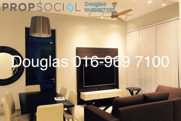 For Rent Condominium at Icon Residence (Mont Kiara), Dutamas Freehold Fully Furnished 2R/3B 5k