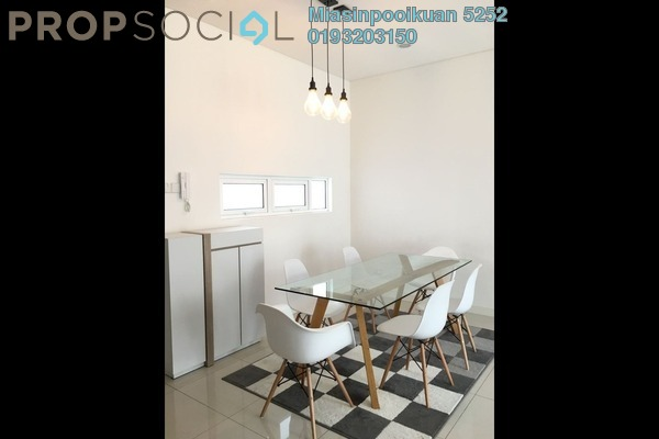 For Rent Townhouse at Hevea Kemensah, Melawati Leasehold Fully Furnished 3R/2B 2.8k