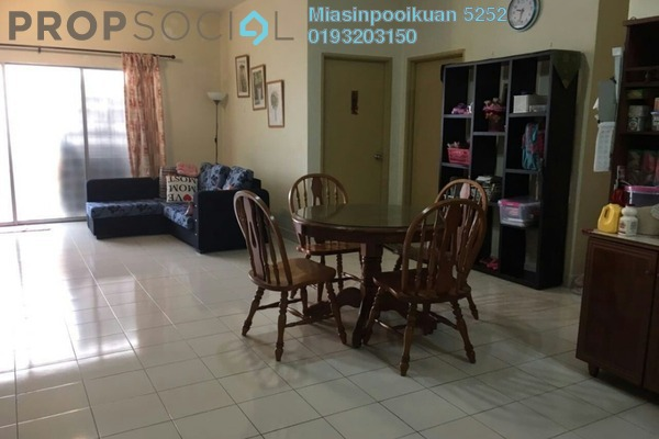 For Rent Apartment at Desa Saujana, Seri Kembangan Freehold Fully Furnished 3R/2B 1.1k