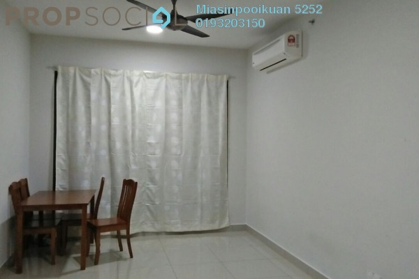 For Rent Condominium at Univ 360 Place, Seri Kembangan Leasehold Semi Furnished 2R/2B 1.2k