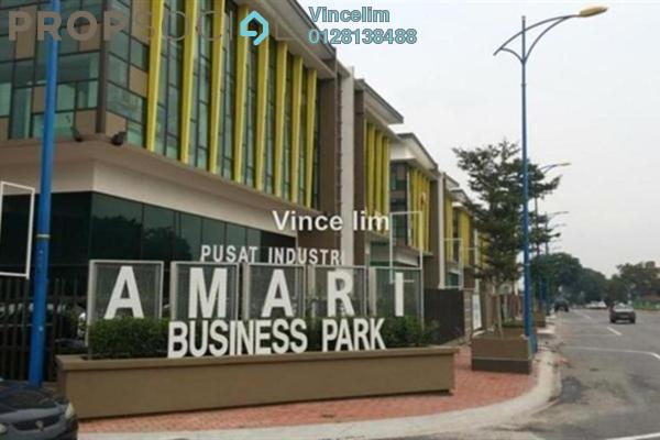 For Sale Factory at Amari Business Park, Batu Caves Freehold Semi Furnished 0R/0B 5.8m