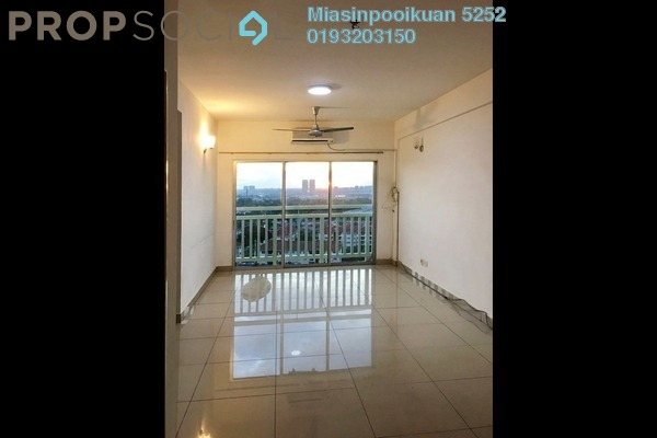 For Rent Condominium at Hijauan Puteri, Bandar Puteri Puchong Freehold Semi Furnished 2R/2B 1.2k