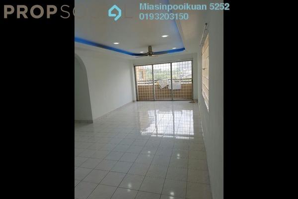 For Rent Condominium at Sri Desa, Kuchai Lama Freehold Semi Furnished 3R/2B 1.3k