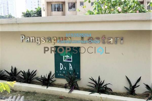 For Sale Apartment at Lestari Apartment, Bandar Sri Permaisuri Leasehold Unfurnished 3R/2B 330k