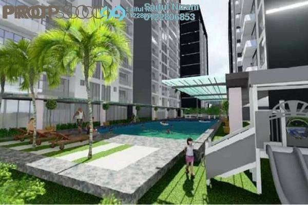 For Sale Condominium at Angkasa Residence, TTDI Freehold Semi Furnished 3R/2B 415k