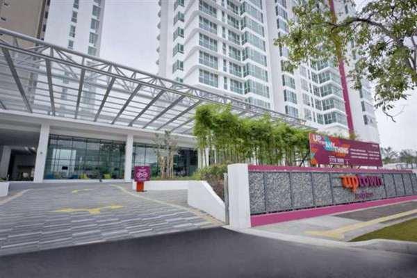 For Rent Serviced Residence at Uptown Residences, Damansara Utama Leasehold Fully Furnished 1R/1B 2.8k