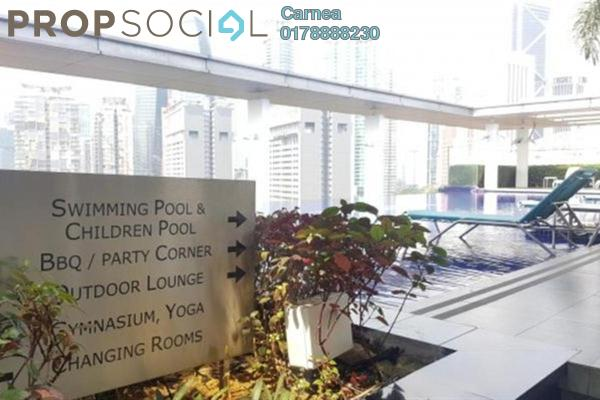 For Rent Condominium at 7 U Thant, Ampang Hilir Freehold Semi Furnished 3R/4B 11k