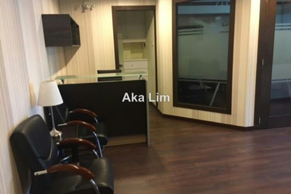For Rent Office at Solaris Mont Kiara, Mont Kiara Freehold Fully Furnished 0R/0B 4.6k