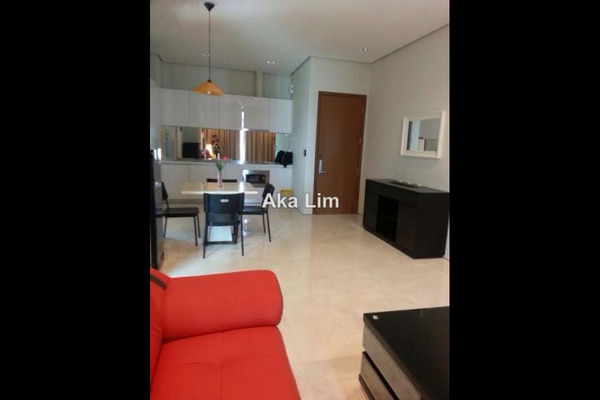 For Rent Condominium at Soho Suites, KLCC Freehold Semi Furnished 2R/1B 3.5k