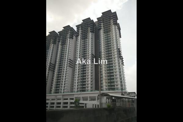 For Rent Condominium at Kiara Residence 2, Bukit Jalil Leasehold Semi Furnished 3R/2B 1.6k