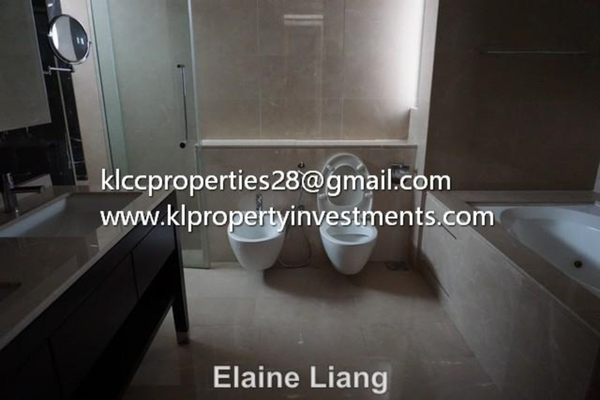 For Sale Condominium at The Binjai On The Park, KLCC Leasehold Semi Furnished 3R/4B 8.7m