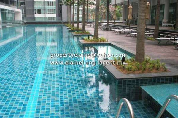 For Rent Condominium at Verticas Residensi, Bukit Ceylon Leasehold Unfurnished 4R/5B 12k