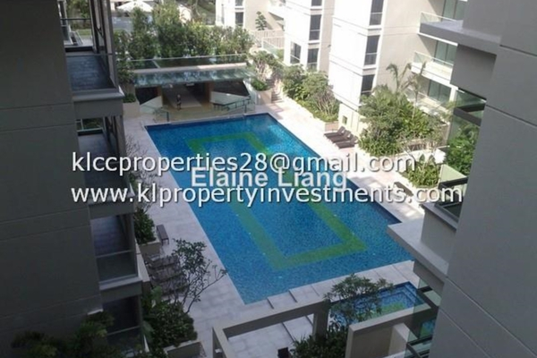 For Rent Condominium at U-Thant Residence, Ampang Hilir Leasehold Semi Furnished 4R/6B 11k