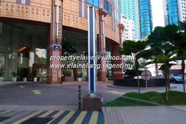 For Rent Office at Menara HLA, KLCC Leasehold Unfurnished 0R/0B 22.9k