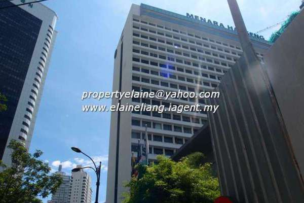 For Rent Office at Menara Hap Seng 2, KLCC Leasehold Unfurnished 0R/0B 113k