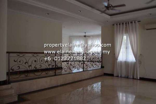For Rent Bungalow at Puncak Kiara, Mont Kiara Freehold Semi Furnished 6R/7B 15k