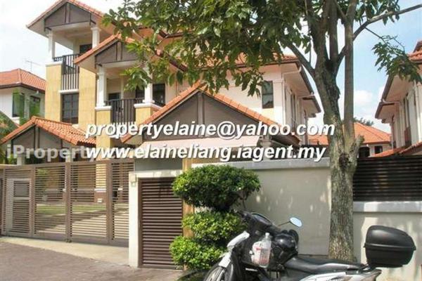 For Rent Bungalow at Impian Bukit Tunku, Kenny Hills Freehold Semi Furnished 6R/7B 16k