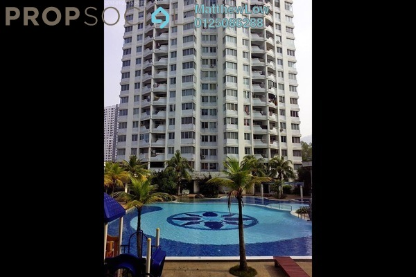 For Rent Apartment at U-Garden, Gelugor Freehold Semi Furnished 3R/2B 1.1k