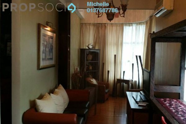 For Rent SoHo/Studio at Park View, KLCC Freehold Fully Furnished 1R/1B 2.4k