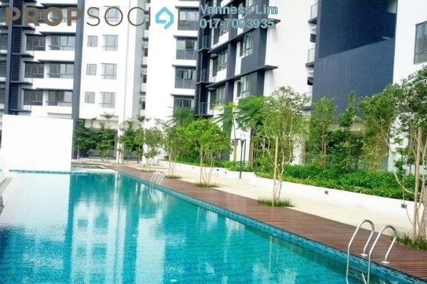 For Sale Condominium at Residence 8, Old Klang Road Freehold Semi Furnished 3R/2B 650k