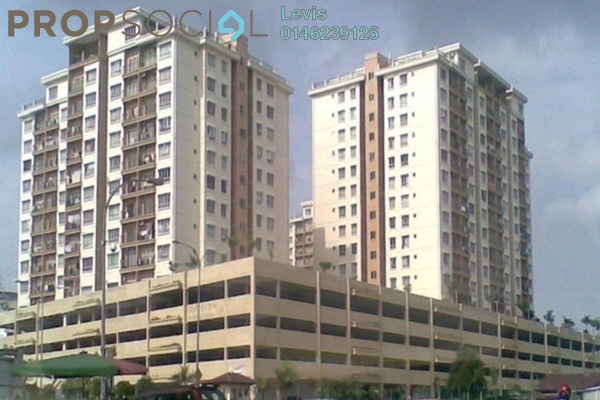 For Rent Condominium at Permai Putera, Ampang Leasehold Unfurnished 3R/2B 1.4k
