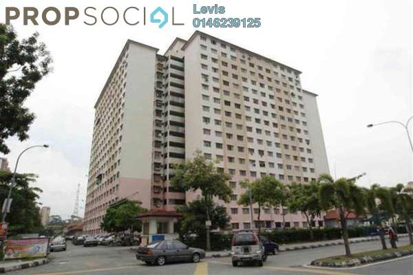 For Rent Condominium at Cendana Apartment, Bandar Sri Permaisuri Leasehold Semi Furnished 3R/1B 1.1k
