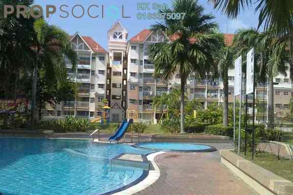 For Sale Apartment at Taman Bayu Perdana, Klang Freehold Semi Furnished 3R/2B 258k