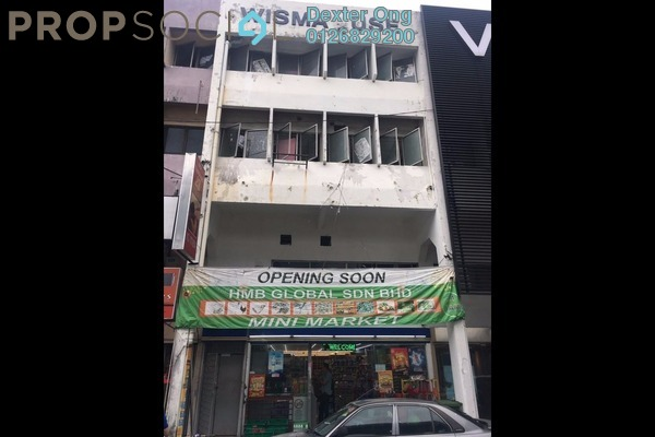 For Sale Shop at Taman Pertama, Cheras Leasehold Semi Furnished 0R/0B 3m
