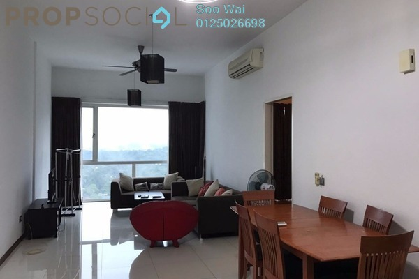 For Rent Condominium at Suasana Sentral Loft, KL Sentral Freehold Fully Furnished 1R/0B 3.8k