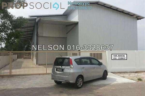 For Sale Factory at Subang Permata, Subang Leasehold Unfurnished 0R/1B 3.8m