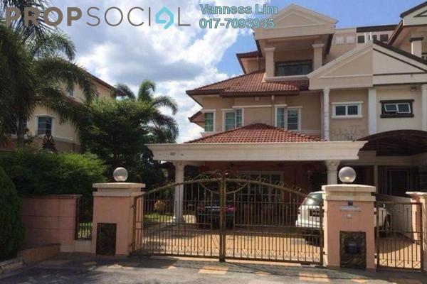For Sale Terrace at Section 8, Bandar Mahkota Cheras Freehold Semi Furnished 4R/3B 1.55m