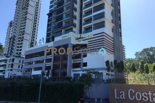 For Sale Condominium at LaCosta, Bandar Sunway Leasehold Fully Furnished 3R/2B 950k