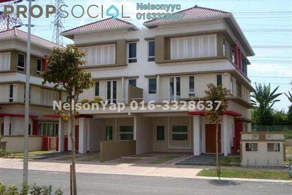 For Sale Semi-Detached at The Rafflesia, Damansara Perdana Leasehold Fully Furnished 5R/5B 2.75m