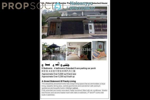 For Sale Semi-Detached at Puteri 9, Bandar Puteri Puchong Freehold Semi Furnished 5R/4B 3.5m