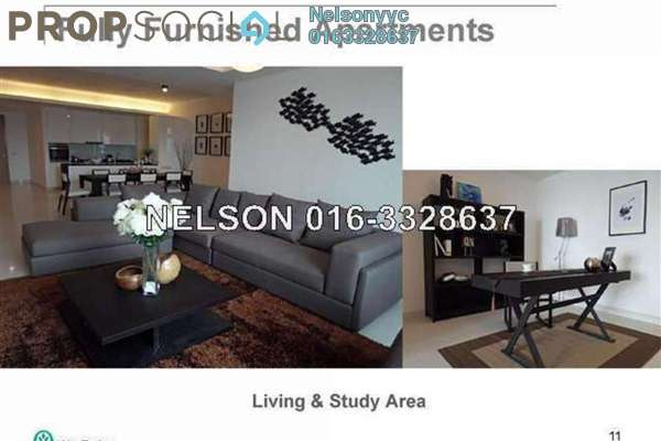 For Rent Condominium at Verticas Residensi, Bukit Ceylon Freehold Fully Furnished 2R/2B 6.3k